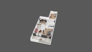 appartement A12 de type T3