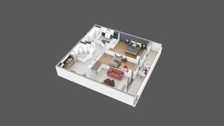 appartement C14 de type T3