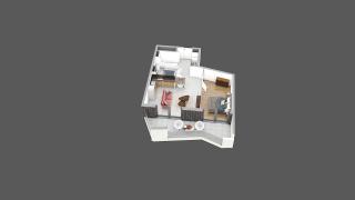 appartement C26 de type T2