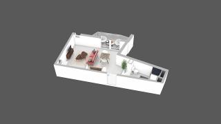 appartement C28 de type T1